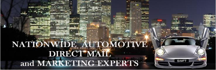 Automotive Direct Mail New Cars Used Cars Marketing Advertising